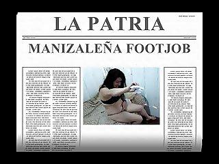 MANIZALENA FOOTJOB MANIZALES CALDAS COLOMBIA