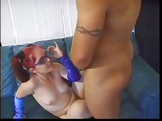 Midget can't get enough Cock!!