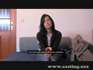 Casting First time facial for students