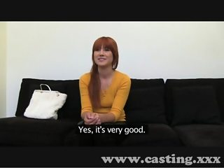 Casting Smoking hot carrot top
