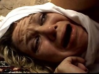 blonde reporter fuckd by  3 terrorists (forced sex)
