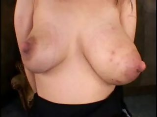 Titty Destruction, Huge tits used like punching bags.