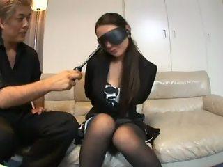 Japanese TV-reporter Forced Bondage Submission