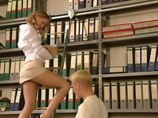 Sexy Librarian in Mini-Skirt - http://bit.ly/freemovies89