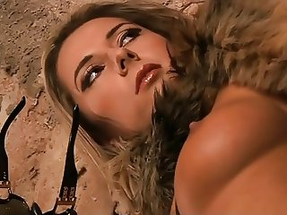 Daria Glover is a perfect fetish slave whore in leather