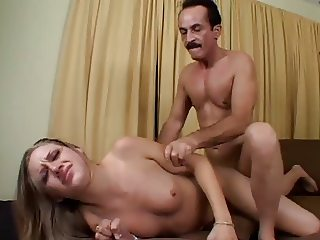 Tina Fine Threesome Rough fucking