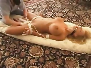 daddy ties daughter friend - she has do cum with magic wand
