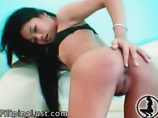 Exotic Asian Teen Stripping