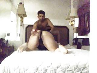 Latin couple fuck on hidden cam at motel