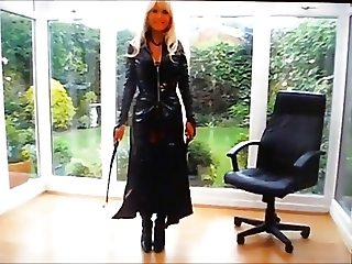 Mistress Blondia in outfit pvc