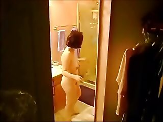 Army MILF Nude and Unaware