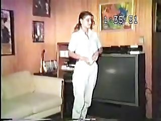 Old VHS Tape Of Old Fat Guy Fucking His Lovely Young Wife !