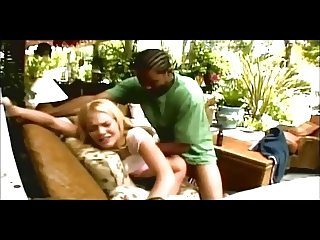 Interracial fuck on the sofa (from 7 lives xposed)