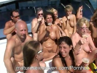More Yacht Orgy Part 4