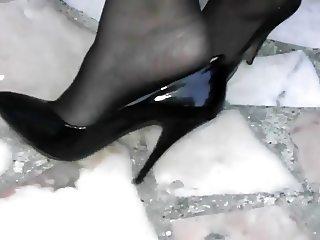 Black High Heels 8