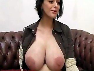 Huge nipples girl