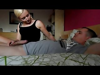Daughter Handjob