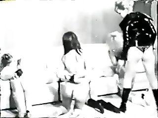 60s Fetish Raunchy BDSM Romp