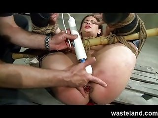 Wasteland BDSM Movie - MaleDom with brunette