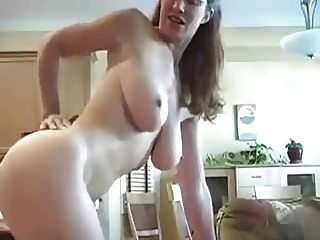 milf doggy and cum on ass