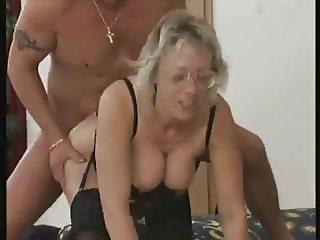 German mature in glasses - Thea