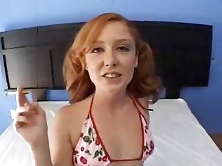 Redhead wants rough treatment