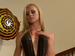 Pervert Blonde For Bodyguard's BBC...F70