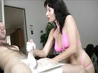 Soapy Handjob