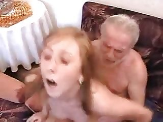 Grandpa fucks NOT his granddaughter