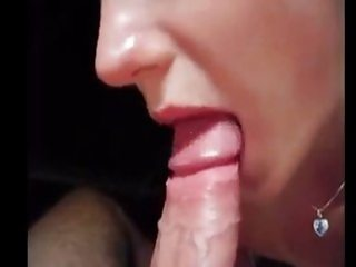 Super hot oral sex with cum swallow