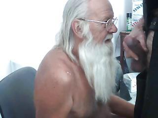 Daddy Santa Paul Eats Breakfast