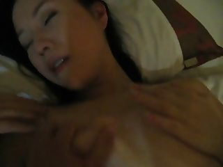 Korean housewife fucked after work