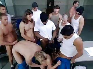 Belladonna Prison Gangbang