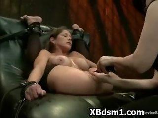 Kinky Wild Hottie In Alluring BDSM Milf