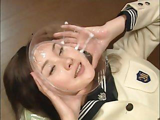 Extreme Bukkake Eye Cum - Japanese