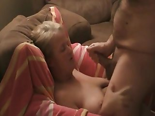 Blowjob not a young couple