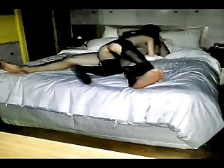 Slim Korean Hottie Homemade Video