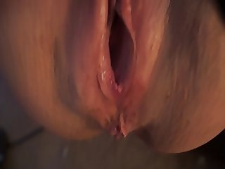 Milf getting fucked with creampie