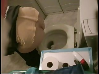 japanese wife four times on toilet