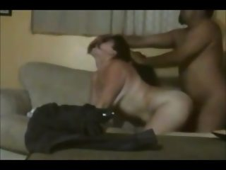 Brunette wife ass fucked on real homemade