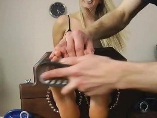UKT - Hayley's Sexy Feet Tickle Tortured
