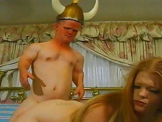 Redhead Daejha And The Dwarf