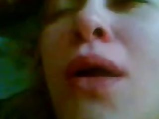 Russian ugly couple. Oral creampie