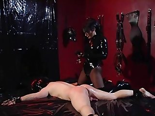 Mistress bangs him
