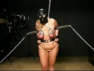 BBW Tied and Tortured Tits