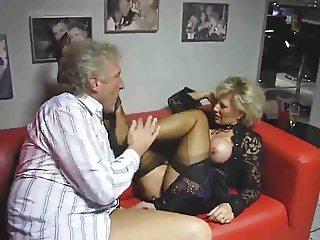 Worships her feet cums on feet