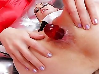 Kinky anal sex with mistress and slave girl