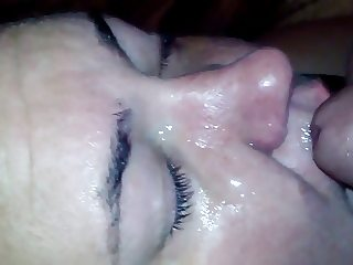 bbw cum replay
