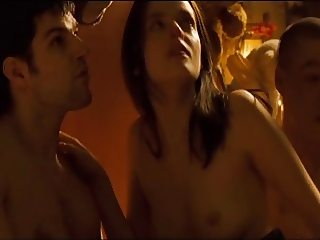 Roxane Mesquida - Sheitan (Threesome erotic scene) MFM