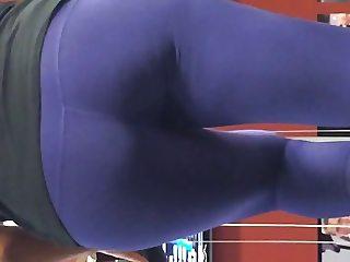 Hot gym purple tights